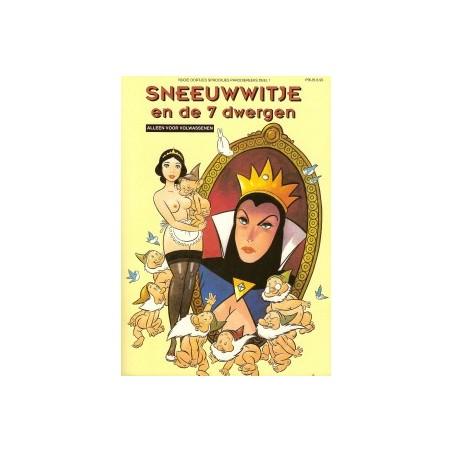 Matena strips Sneeuwwitje en de 7 dwergen Rooie Oortjes sprookjes
