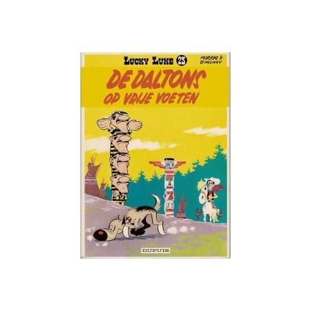 Lucky Luke  I 23 De Daltons op vrije voeten