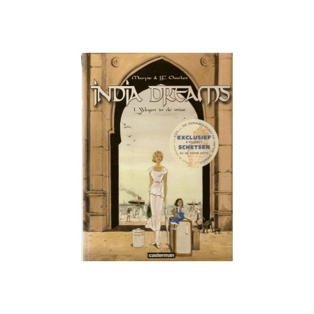 India dreams box 1 Deel 1 t/m 5 HC