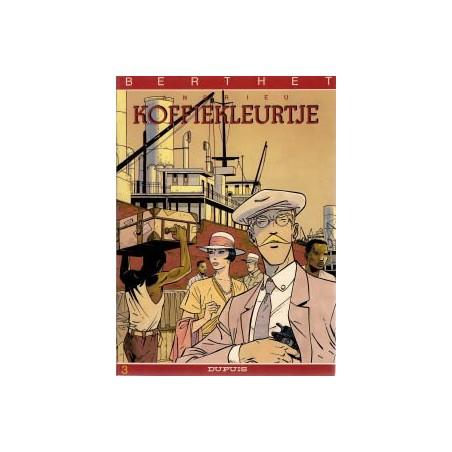 Berthet reeks 03 Koffiekleurtje herdruk 1986