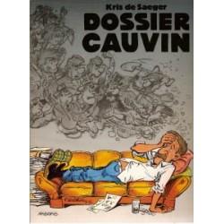Dossier Cauvin SC<br>1e druk 1995<br>Met kort verhaal Blauwbloez