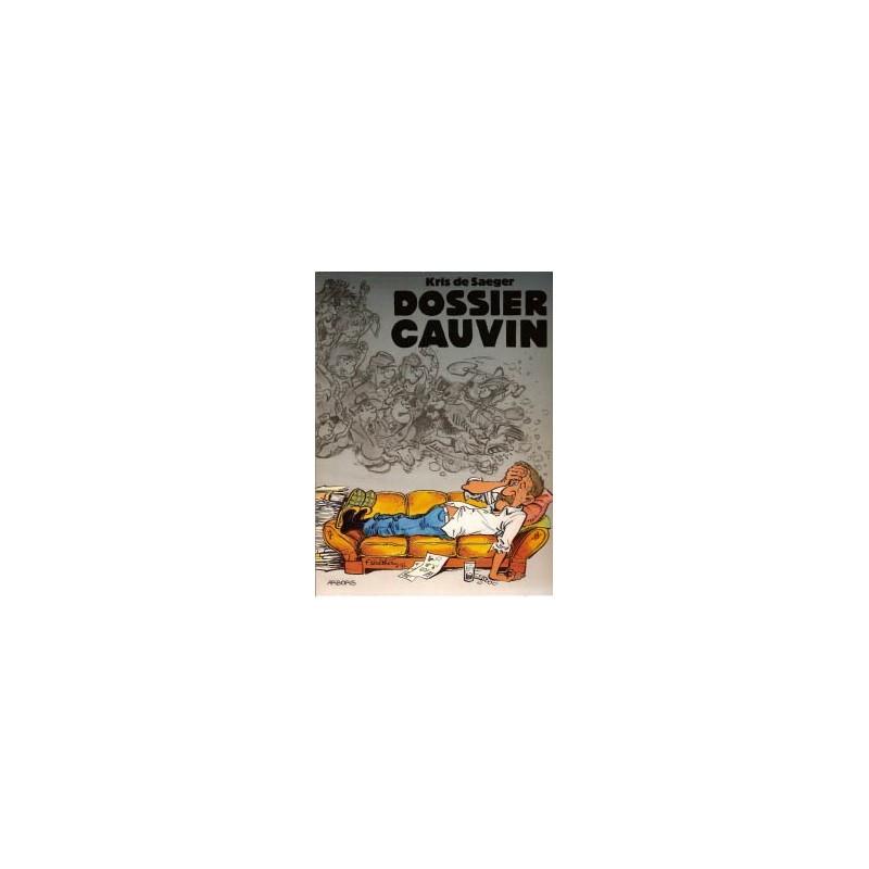 Dossier Cauvin 1e druk 1995 Met kort verhaal Blauwbloezen