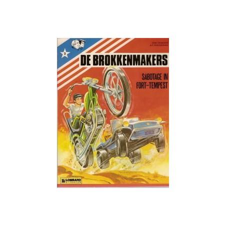 Brokkenmakers 02 Sabotage in Fort-Tempest herdruk