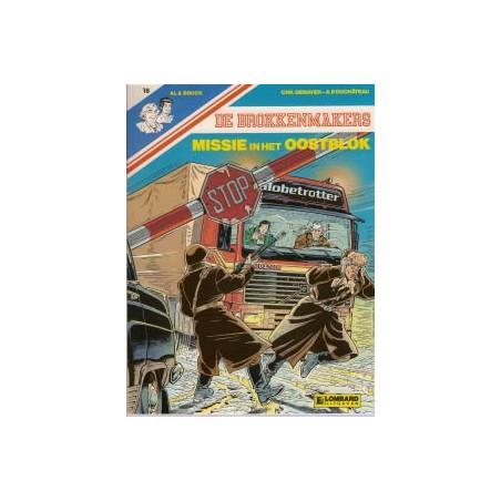 Brokkenmakers 18 Missie in het Oostblok 1e druk 1991
