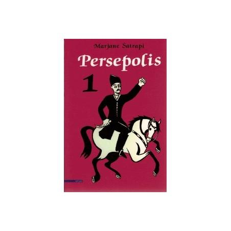 Satrapi Persepolis setje deel 1 t/m 4