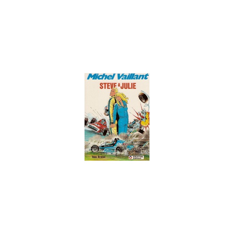 Michel Vaillant 44 - Steve & Julie 1e druk