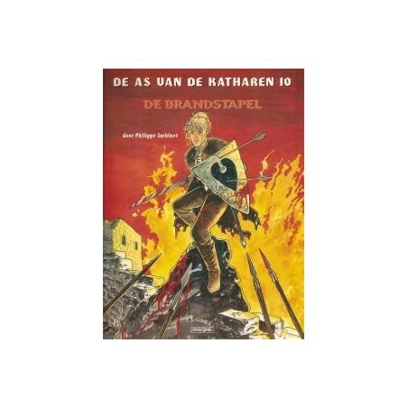 As van de Katharen 10 De brandstapel