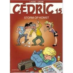 Cedric<br>15 - Storm op komst<br>herdruk oorspronkelijk omslag