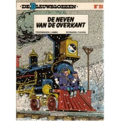 Blauwbloezen 23 - De neven van de overkant 1e druk 1985
