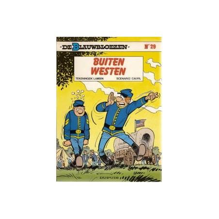 Blauwbloezen 29 - Buiten westen 1e druk 1989
