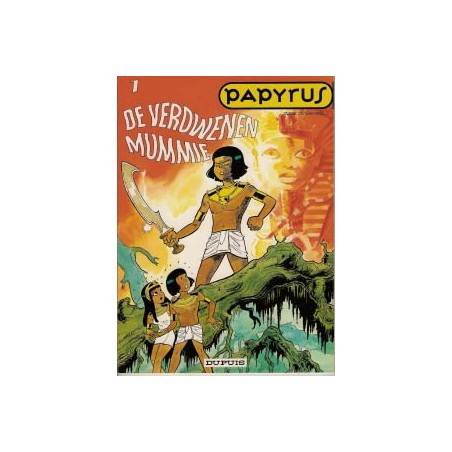 Papyrus  01 De verdwenen mummie