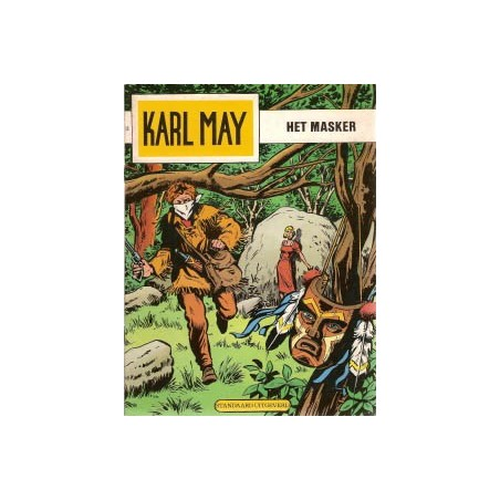 Karl May 13 Het masker herdruk 1978