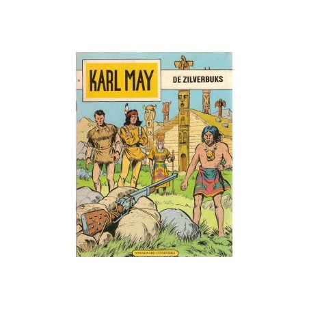 Karl May 14 De zilverbuks herdruk 1978