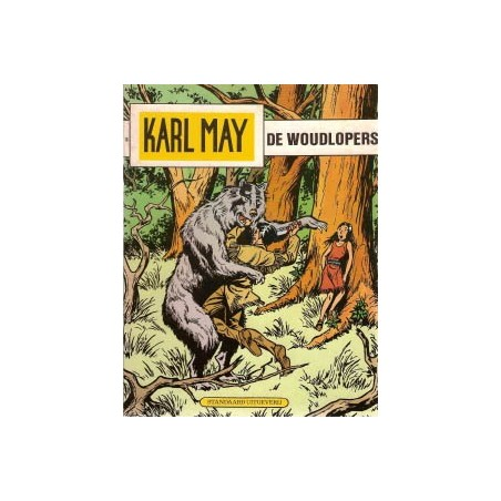 Karl May 16% De woudlopers herdruk 1978