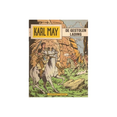 Karl May 17% De gestolen lading herdruk 1973
