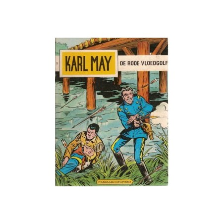 Karl May 26 De rode vloedgolf herdruk 1981
