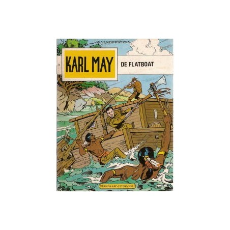 Karl May 28 De flatboat herdruk 1977