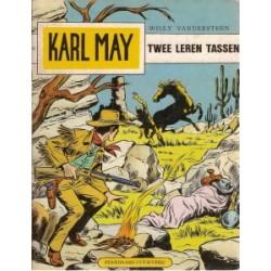 Karl May 34<br>Twee leren tassen<br>herdruk 1977