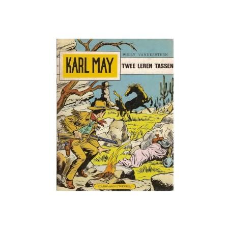 Karl May 34 Twee leren tassen herdruk 1977