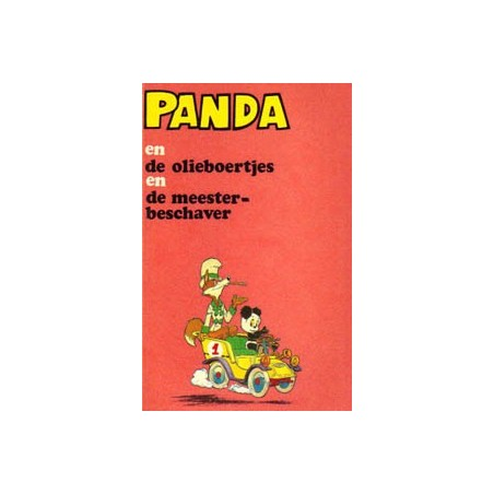Panda pocket 01 De oliebroertjes e.a. 1973