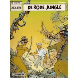 Adler<br>07 - De rode jungle<br>1e druk 1997