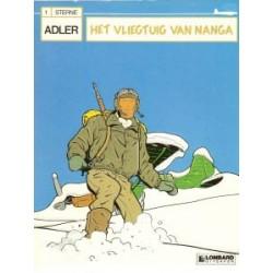 Adler<br>01 - Het vliegtuig van Nanga<br>1e druk 1987