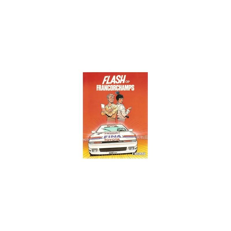 Flash op Francorchamps reclamealbum voor Toyota 1e druk 1988