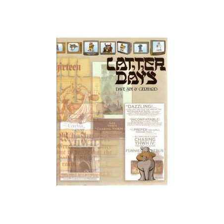 Cerebus 15<br>Latter days<br>second printing