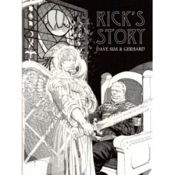 Cerebus 12<br>Rick's story<br>fourth printing