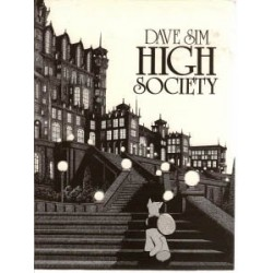 Cerebus 02<br>High society<br>first printing 1986