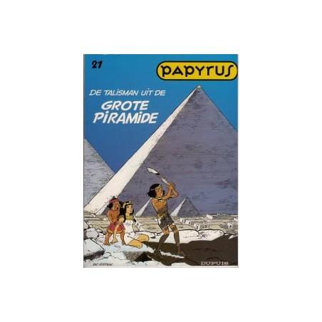 Papyrus  21 De talisman uit de grote pyramide