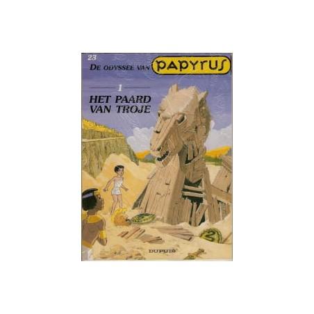 Papyrus  23 De odyssee van Papyrus 1 – Het paard van Trohe