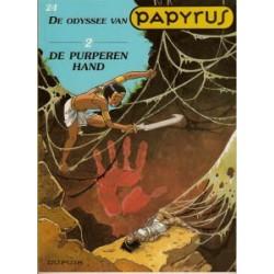 Papyrus 24: De odyssee van Papyrus 2 – De purperen hand