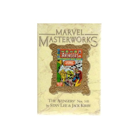 Marvel Masterworks 04 Avengers HC 1-10