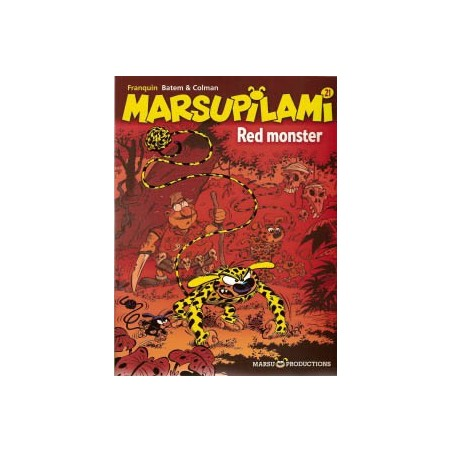 Marsupilami  21 Red monster