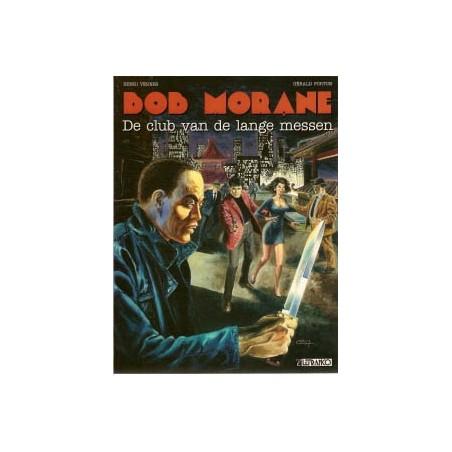 Bob Morane Klassiek 14 De club van de lange messen 1e druk 1994