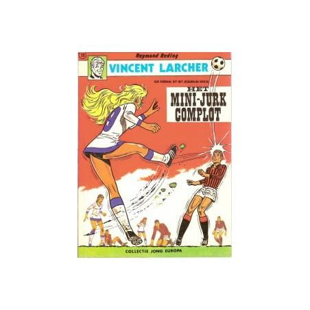 Vincent Larcher Het mini-jurk complot 1e druk Lombard 1972 (Jong Europa 78)