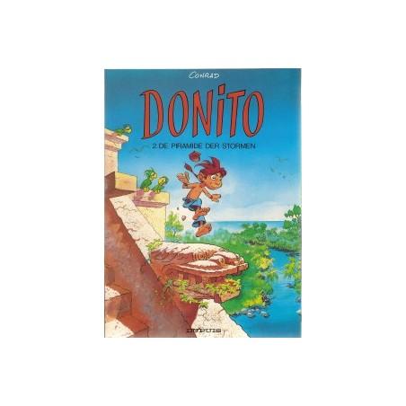 Donito 02 De piramide der stormen 1e druk 1992