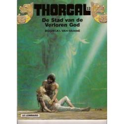 Thorgal 12: De stad van de verloren god