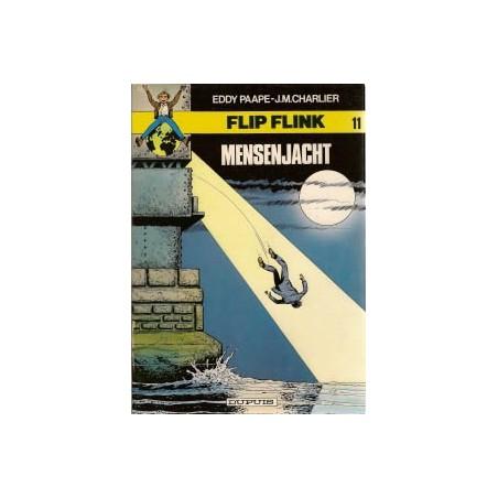 Flip Flink 11 Mensenjacht 1e druk 1982