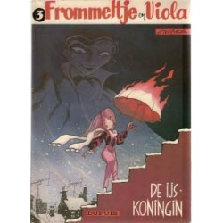 Frommeltje en Viola 03<br>De ijskoningin<br>1e druk 1984