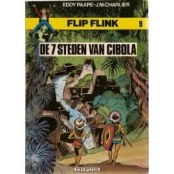 Flip Flink 09 De 7 steden van Cibola herdruk 1981