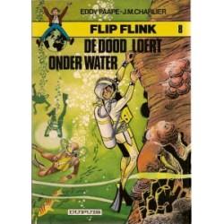 Flip Flink 08 De dood loert onder water herdruk 1981