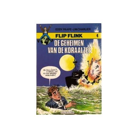 Flip Flink 04 De geheimen van de Koraalzee herdruk 1980