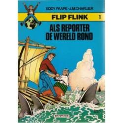 Flip Flink 01 Als reporter de wereld rond herdruk 1980