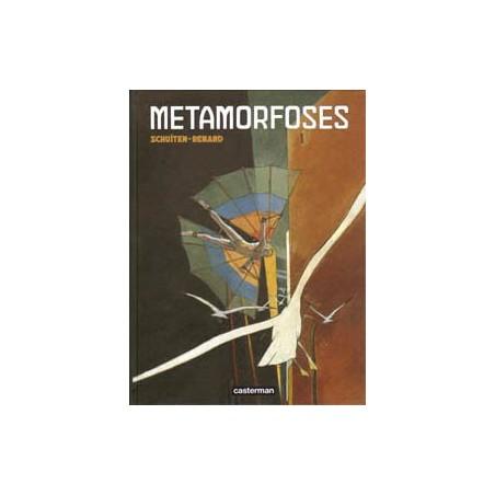 Schuiten  strips HC Metamorfoses (De medianen van Cymbiola & De rail)