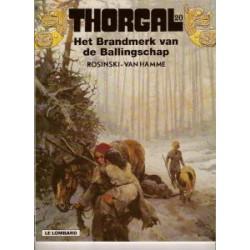 Thorgal 20: Het brandmerk van de ballingschap