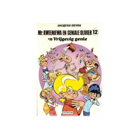 Geniale Olivier 12% 'n Vrijgevig genie 1e druk 1984