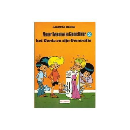 Geniale Olivier 02 Het genie en zijn generatie herdruk 198