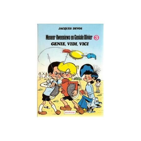 Geniale Olivier 03 Genie, vidi, vici herdruk 1983